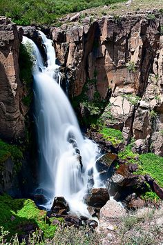 Clear Creek Falls , Colorado