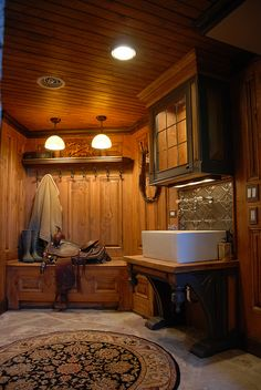 mud room. wow...nice