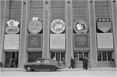 Berlin Ostbahnhof, 1950s /Foto von ddr-fotos.de