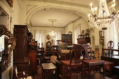 Alex Raskin Antiques - Beautiful old building and amazing antiques.  Definitely worth a visit if you are ever in Savannah :)