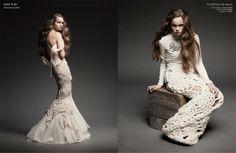 Julia Ramsey Knitwear via TANTALUM ISSUE 31  woven-starlight-4