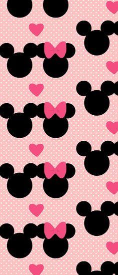 Fundo da Minnie e Mickey-Minus