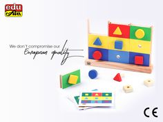 We all know that our children destroy the toy after one day of using it :D This is why we used European materials in all our toys to be robust, durable and safe with high quality finishing.