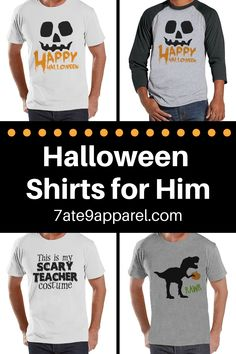 7 ate 9 Apparel Kids Spell Halloween Raglan Tee Grey