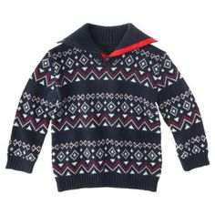 Genuine Kids from OshKosh™ Infant Toddler Boys' Argyle Sweater 5T