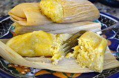 Sweet Corn Tamales/Tamales de Elote Dulces | Adri's Mexican Kitchen