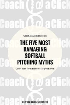 Could You Benefit From Having A Professional Pitching Coach At