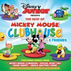 Children - disney junior - best of mickey mouse clubhouse & friends (cd + dvd) Disney Junior Mickey Mouse, Mickey Mouse And Friends, Mickey Mouse Clubhouse, Disney Music, Disney Fun, Disney Stuff, The Learning Company, Disney Presents, Tk Maxx