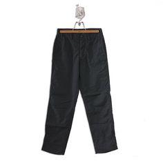 STONE ISLAND BLACK CHAMBRAY TASTE COTTON 70% NYLON 30% PANTS Size: Italian 48 Made in ITALY