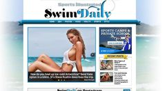 'Sports Illustrated' is launching a daily news site, 'The Daily Swim,' to extend the Swimsuit franchise.