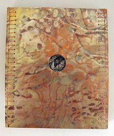 Cynthia Motian McGuirl. Grandma Stories, copper, etchings, thread. 2013