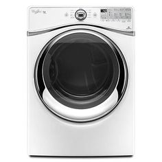 "Whirlpool WGD94HEAW 27"" White Front-Load Gas Dryer NOB #21430"
