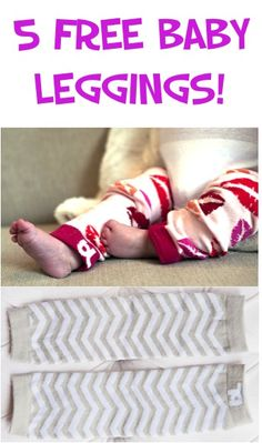 5 FREE Pairs of Super-Cute Baby Leggings! {just pay s/h} ~ these make great gifts, too! #babies #babylegwarmers