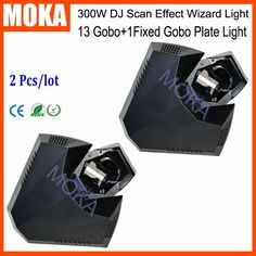 800.00$  Buy here - http://alikno.worldwells.pw/go.php?t=32775871027 - 2Pcs/Lot Scanning Tube-light 300 Watt 2R Wizard DJ Stage Effect Gobo Wizard Light DMX Wizard Special Bar Projector 800.00$