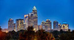 charlotte cityscape by alex grichenko on 500px