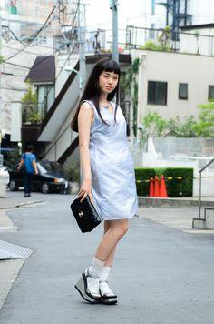 ストリートスナップ [るうこ] | CHANEL, used, シャネル, 古着 | 原宿 | Fashionsnap.com