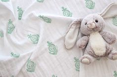 Anchor Monogrammed Muslin Swaddle Baby Blanket in Mint Muslin Blankets, Muslin Swaddle Blanket, Baby Swaddle, Anchor Monogram, Hand Stamped, Boy Or Girl, Mint, Trending Outfits, Handmade Gifts