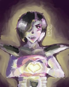 Mettaton drawing