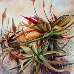 'Vera' Oil on canvas x By Ellie Eburne Plant Painting, Oil Painting Flowers, Abstract Flowers, List Of Paintings, Plant Wallpaper, Botanical Art, Art Oil, Creative Art, Flower Art