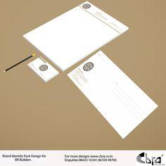 Brand Identity Pack Design for RR Builders
