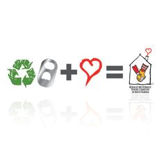 logo for the pop tab recycling program for Ronald McDonald House Charities of South Florida by thelogoboutique.com
