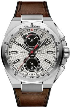 IWC Ingenieur Chronograph Silberpfeil Mens Wristwatch Model: IW378505