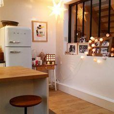 Une verrière dans la cuisine, La décoration des internautes #Décembre - Marie Claire Maison