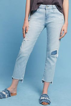 AG Ex-Boyfriend Mid-Rise Relaxed Jeans