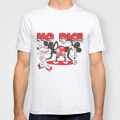 BUY: http://society6.com/product/no-dice-upe_t-shirt?curator=4thecrime  No Dice