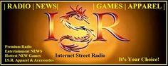 ISR Android Music Player App www.InternetStreetRadio.com Brilliant. Anarchic. Genius.