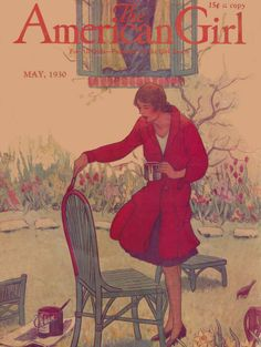 The American Girl May 1930 cover | The American Girl May 19… | Flickr - Photo Sharing!