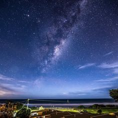 The milkyway from our balcony in Apollo Bay by david_mullins_photography http://ift.tt/1LQi8GE