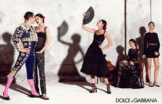 El torero José María Manzanares y Blanca Padilla en la nueva campaña de Dolce&Gabbana | TELVA
