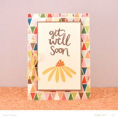 Get Well Soon Card by charimoss at @studio_calico