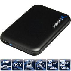 Sabrent USB 3.0 To 2.5-Inch Sata Aluminum Screwless Hard Drive Enclosure Black (EC-RD25) Sabrent http://www.amazon.com/dp/B00EI94JWY/ref=cm_sw_r_pi_dp_fAv0tb10KDTXVDPK