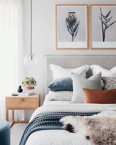 Bedroom Inspo The bedroom of - Architecture and Home Decor - Bedroom - Bathroom - Kitchen And Living Room Interior Design Decorating Ideas - Trendy Bedroom, Modern Bedroom, Master Bedroom, Gray Bedroom, Bedroom Colors, Bedroom Neutral, Light Bedroom, Bedroom Simple, Contemporary Bedroom