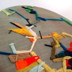 Kate Keara Pelen embroidery for Liberty London