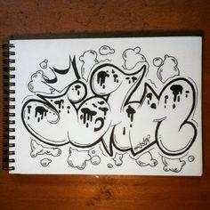 The name John #art #artistic #artsy #graff #graffart #grafflettering #graffiti #graffitiart #graffitilettering #lettering #name #John #draw #drawing #drawings #draws #sketch #sketching #sketchbook #sketchings #sketches #blackbook #book #urbanart #streetart #selfmade #handmade
