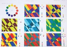 Harmony Art, Color Harmony, Elements And Principles, Elements Of Art, Color Mixing Chart, Composition Art, Jr Art, Color Psychology, Middle School Art