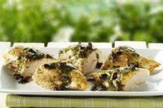 Cedar-Planked Mediterranean Chicken recipe