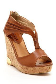 Platform Wedge Sandal                                                                                                                                                                                 More