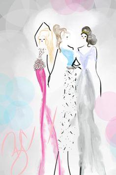 kaleidoscope #fashion #art #fashionillustration  #bybc