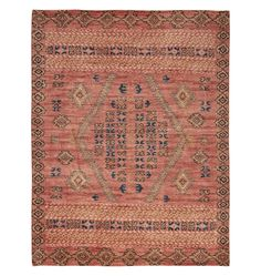 Adair Handknotted Rug - Rust 2.5ft. x 9ft.
