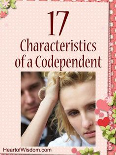 Male codependent characteristics