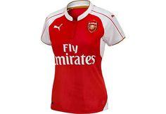 Puma Womens Arsenal Home Jersey 2015-2016