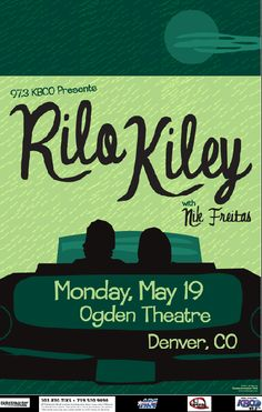 Rilo Kiley poster