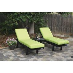 Eagle One Avalon Outdoor Sunbrella Lounge Chair Cushion Fabric: