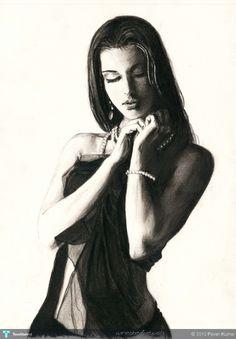 Bliss - Sketching by Pavan Kumar in when my pencils broken...! at touchtalent