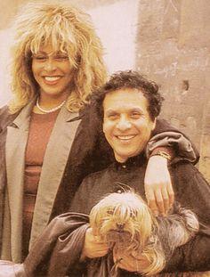 Tina with Azzedine Alaia