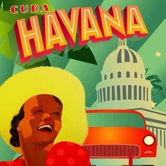 Havana dediğimizde aklımıza sıcak bir deniz, güneş, müzik ve salsa gelir! #Maximiles #Küba #Havana #ArtDeco #vintage #poster #travel #city #postcard #holiday #vacation #seyahat #tatil #şehir #kartpostal #gezi #nature #sea #sun #music #salsa #deniz #güneş #müzik #salsa #ÖzgürceUç #DünyaSizin #OnuİyiKullanın #ŞehirPosterleri #instagood #instacity Havana Cuba, Salsa, Art Deco, Instagram Posts, Movies, Movie Posters, Musica, Films, Gravy